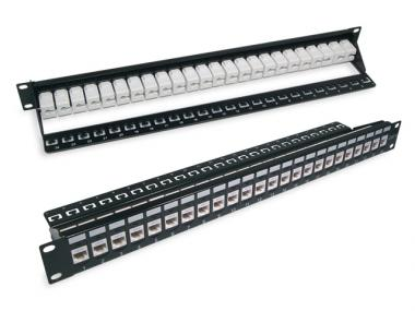 CAT.6 / 5E UTP SNAP-IN PATCH PANEL (ECKJ)