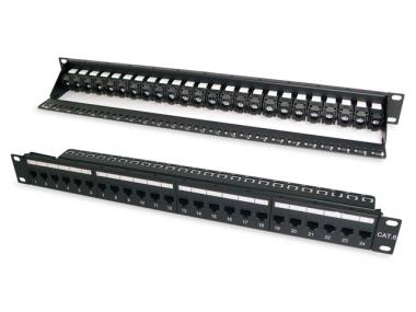 CAT.6 / 5E UTP SNAP-IN PATCH PANEL (ECPKJ)