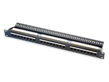 "CAT.6 / 5E 19"" UTP PATCH PANEL (ECH)"